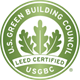 U.S. Green Building Council LEED Certified Logo