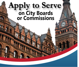 Apply to Serve on City Boards or Commissions