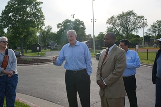 Walk 100 with Alderman Russell Stamper