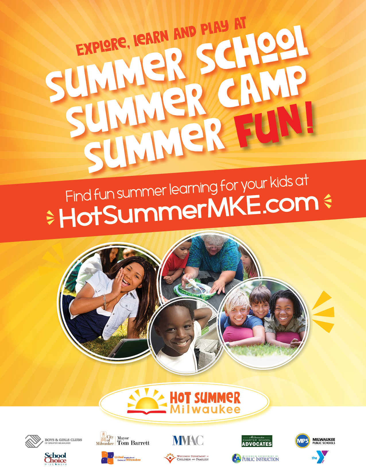 Hot Summer MKE logo