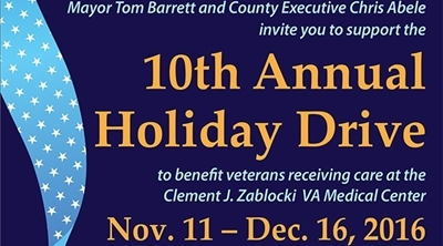 10th Annual Holiday Drive