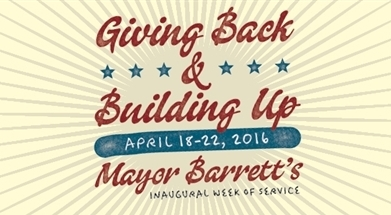 Giving Back & Building Up Inaugural Week of Service