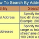 Property Search by address or taxkey