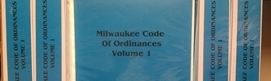 Volume 1 Milwaukee Code of Ordinances