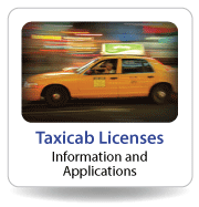 Taxicab Licenses:  Information and Applications