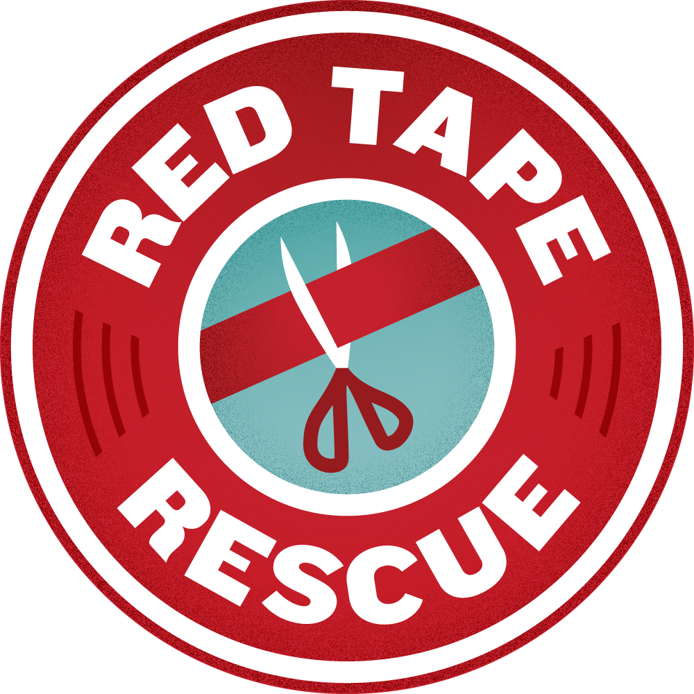Red Tape Rescue logo