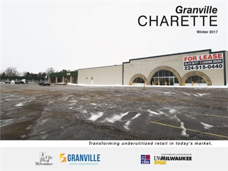 The Granville Cherette in the 9th Aldermanic District has been revealed.