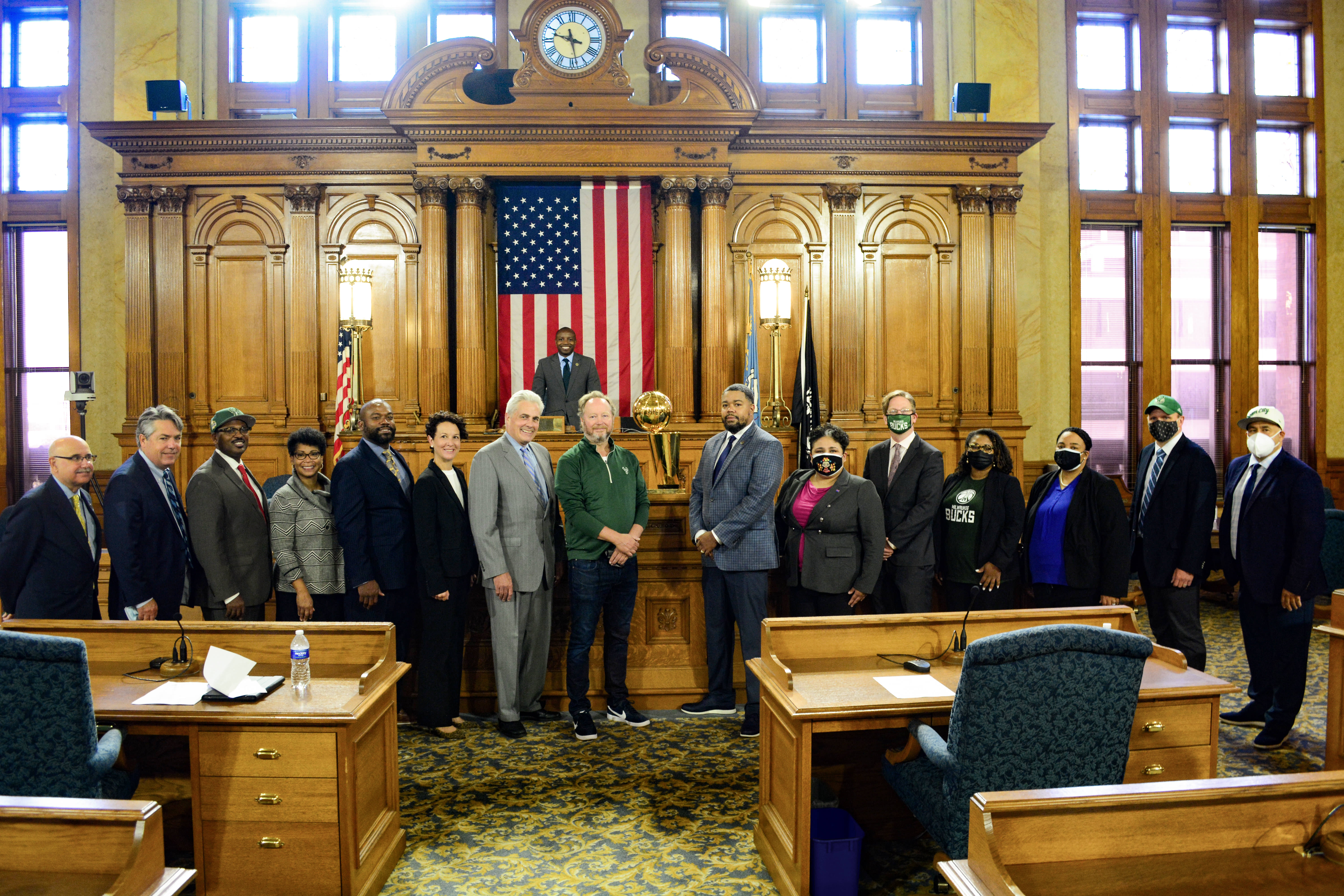 Potrait of the City of Milwaukee Common Council