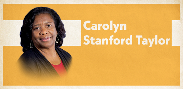 A photo of Carolyn Stanford Taylor