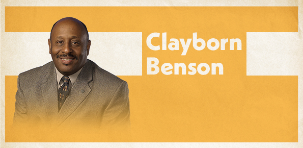 A photo of Clayborn Benson