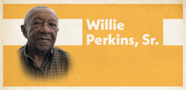 A photo of Willie Perkins, Sr.