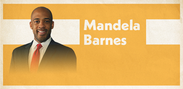 A photo of Lt. Gov. Mandela Barnes