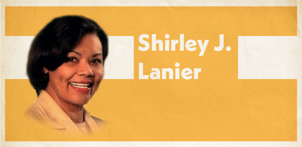 A photo of Shirley J. Lanier