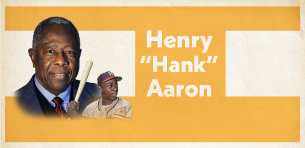 A photo of Henry Hank Aaron