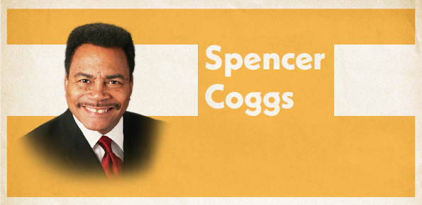 A photo of City Treasurer Spencer Coggs