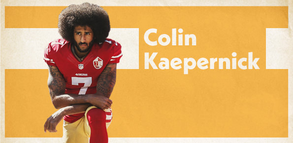 A photo of Colin Kaepernick