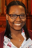 A picture of District 7 Milwaukee Youth Council Member, Alannah Jones