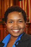 A picture of District 2 Milwaukee Youth Council Member, Erica Lofton