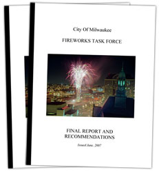 Click to open Fireworks Task Force Report.