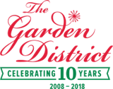 The Garden District logo