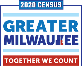 Milwaukee Census 2020 logo