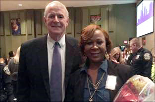 Compete Milwaukee Alumni, Jacqueline Matheny and Mayor Tom Barrett
