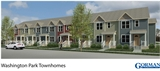 Washington Park Townhomes Rendering