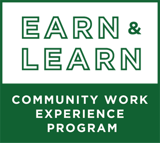 Earn & Learn Community Work Experience Program Logo