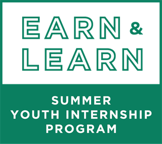 Earn & Learn Summer Youth Internship Program (SYIP) logo