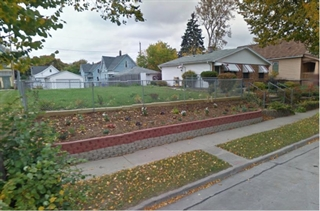 A homeowner on North 14th Street bought the vacant lot next to her home and made major landscaping i