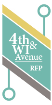 4th & WI Ave RFP logo