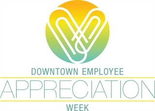 Downtown Employee Appreciation Week Logo