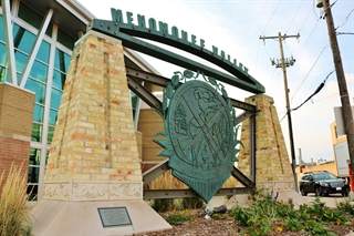 Photo of Menomonee Valley BID Monument