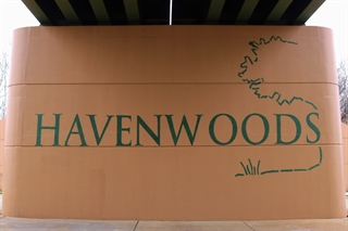 Photo of Havenwoods Neighborhood Sign