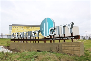 Photo of Century City Monument in the 30th Street Industrial Corridor BID