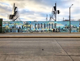 Photo of Crisol Corridor Mural