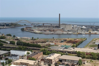 Photo of the Milwaukee Harbor from Rockwell Automation