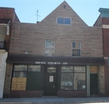 Brick commercial property on north ave.