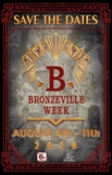 Bronzeville Week Save the date flyer.