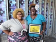 Bronzeville Collective Business owners with award.