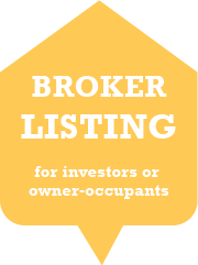 Click to access Broker Property Listing for Investors or owner-occupants