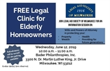 Free Legal Clinic for Elderly Homeowners