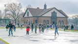 Burnham Park Ice Skating