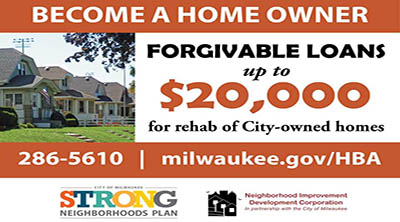 Become a Home Owner. Forgivable Loans up to $20,000. Click for more information