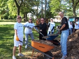 Kilbourn Gardens residents and volunteers