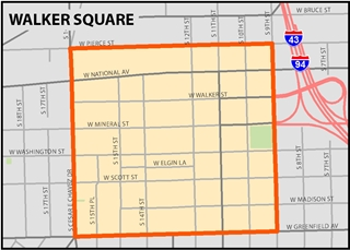 Open a larger Map of Walker square TIN Boundaries