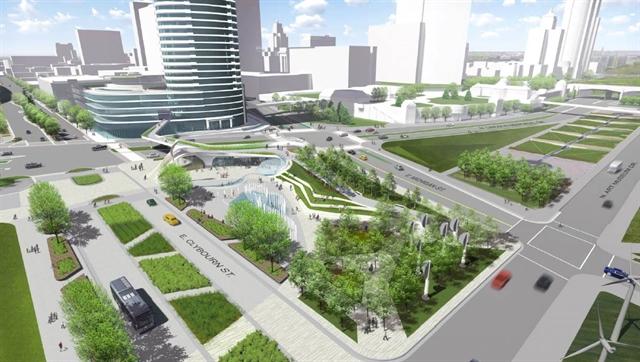 Lakefront Gateway Plaza Design Competition