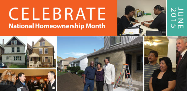 Celebrate National Homeownership Month