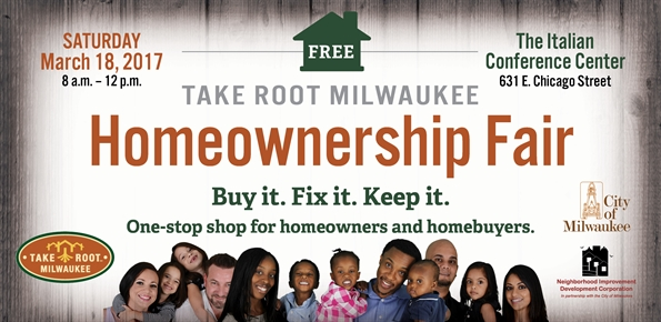 Take Root Milwaukee Home Ownership Fair