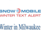Snow Moible Winter Text Alert